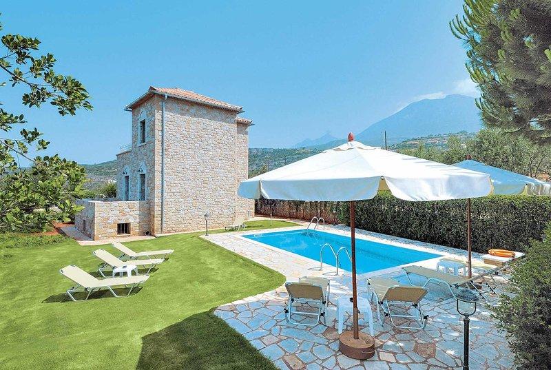 Traditional villa with outstanding views, aluguéis de temporada em Lefktro
