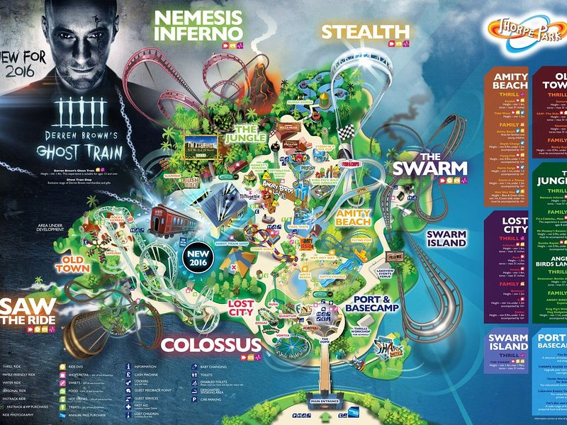 Thorpe Park - Great entertainment for all the family