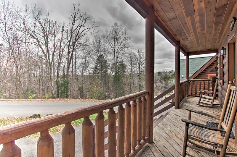 Explore Sevierville from this 4-bedroom, 5-bath vacation rental home!