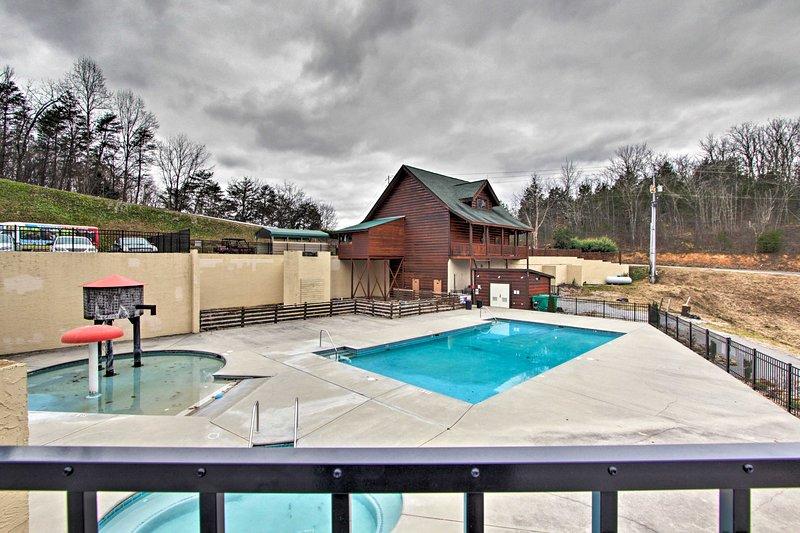 Enjoy access to the resort pool and kiddie pool!