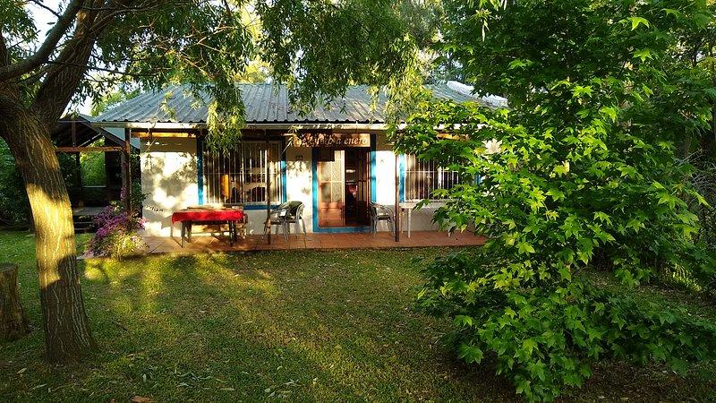 Hermosa casa con gran parque en Santa Ana , Colonia, Uruguay, casa vacanza a San Pedro