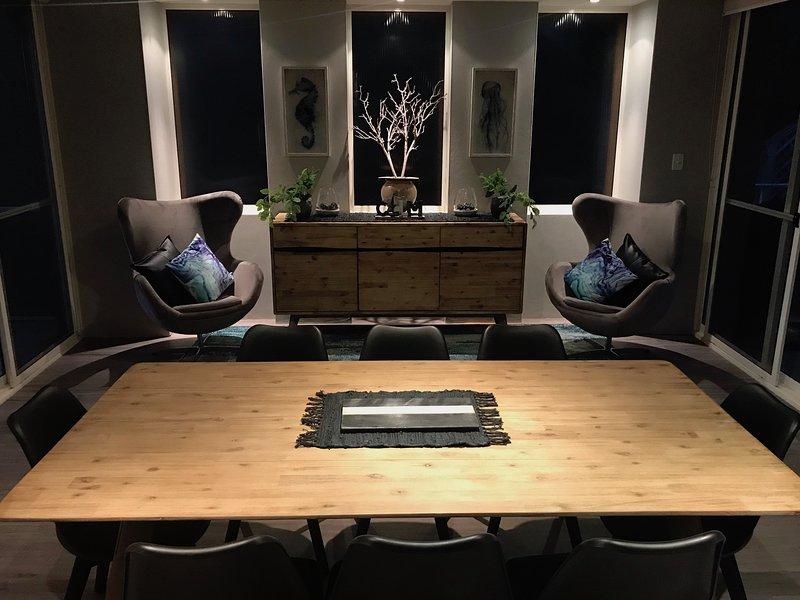 Un salotto elegante e confortevole