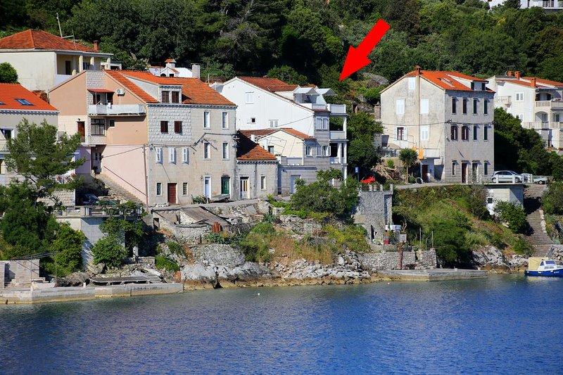 Studio flat Račišće, Korčula (AS-4360-a), vacation rental in Racisce