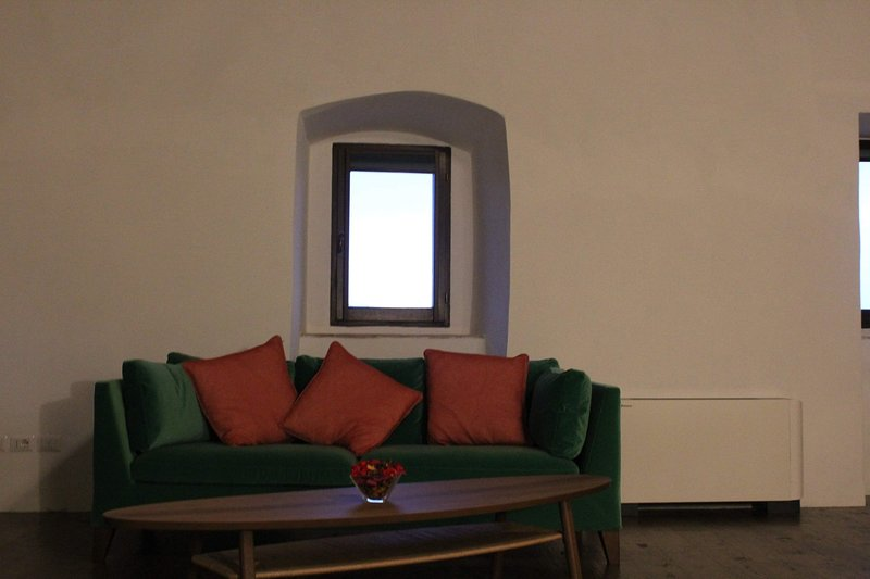 Relaxation area sofa