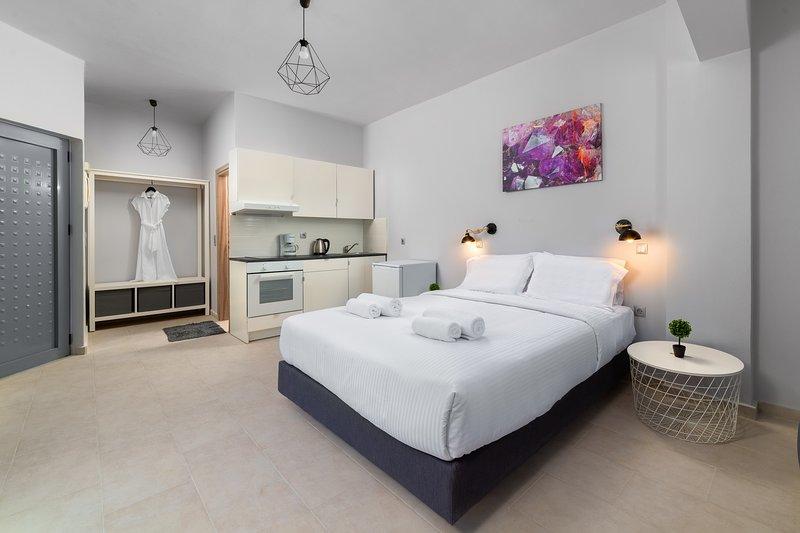 Ble Azzure - Lady Red Apartment, holiday rental in Apolakkia