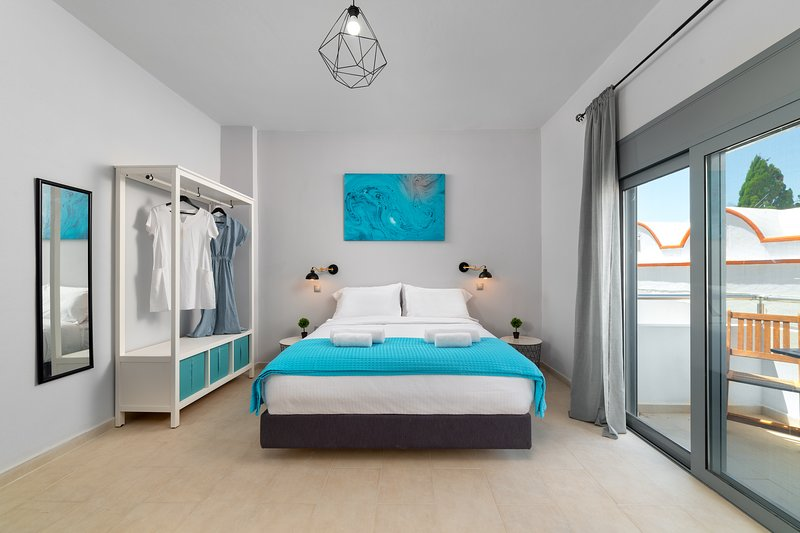 Ble Azzure - Turquoise Apartment, holiday rental in Apolakkia