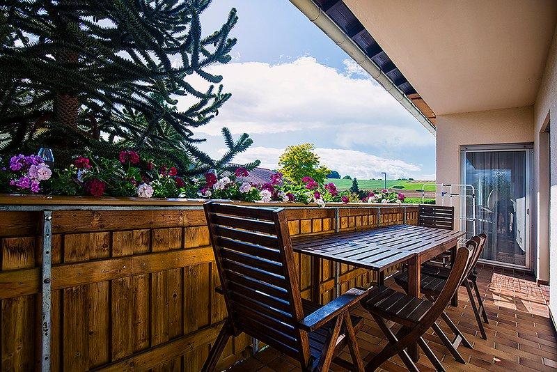 10 m balcony apartment Zum Mensfelder Kopf