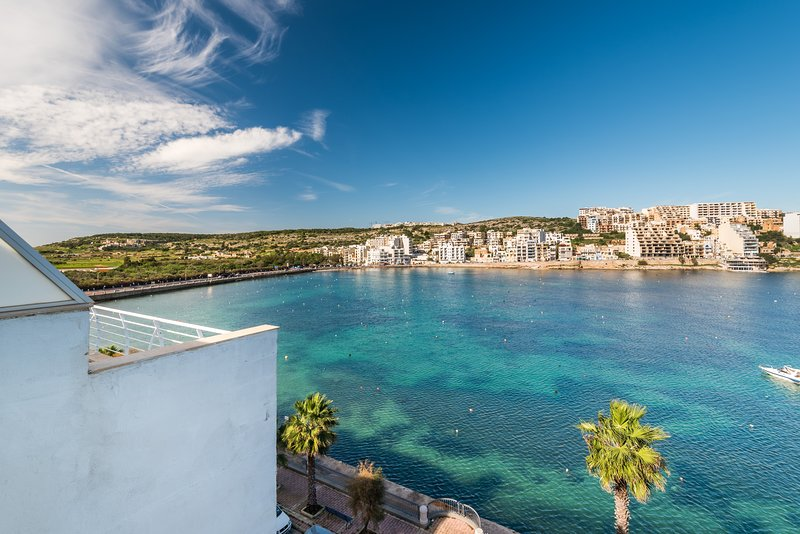 Sea Views From Front Balcony.