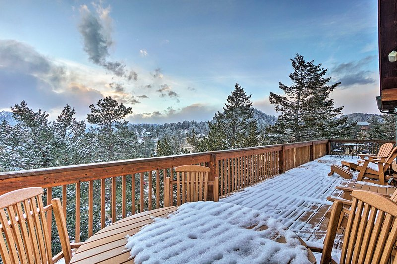 Enjoy the magnificent views from this vacation rental home!