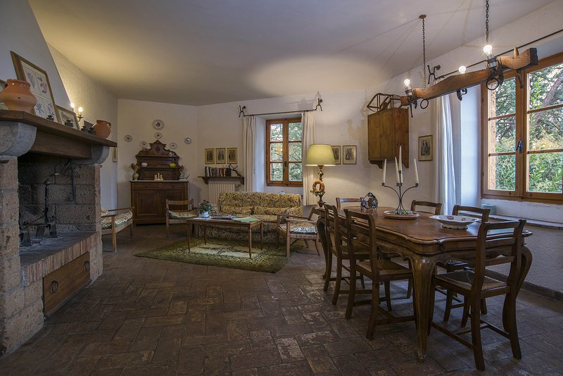 Stunning lodging in a castle -estate,swimming pool,restaurant,Free Wi-Fi,quiet, vacation rental in Trevinano