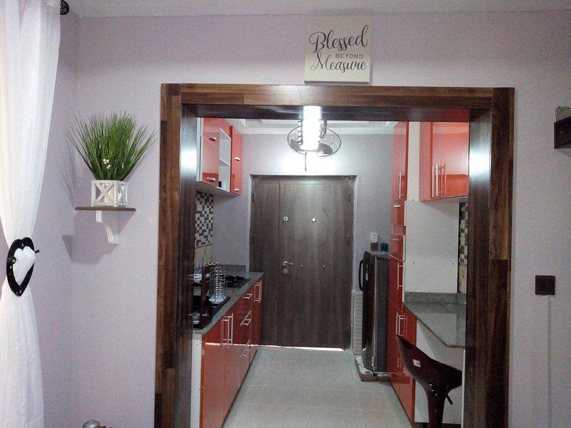 The Oasis Short-stay Studio Apartment, Ikoyi, Ferienwohnung in Ikoyi
