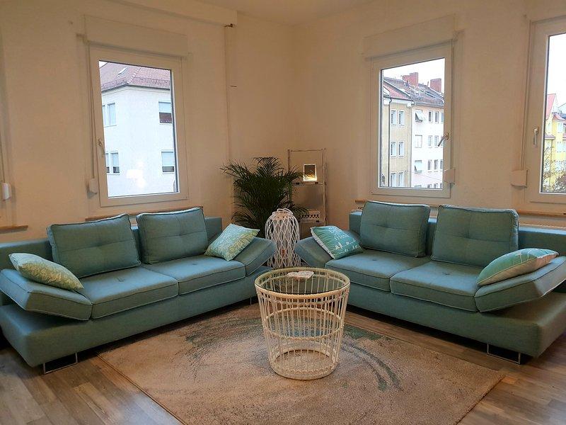 Die Wohnung in der Innenstadt liegt in der Nähe von allem, – semesterbostad i Nürnberg