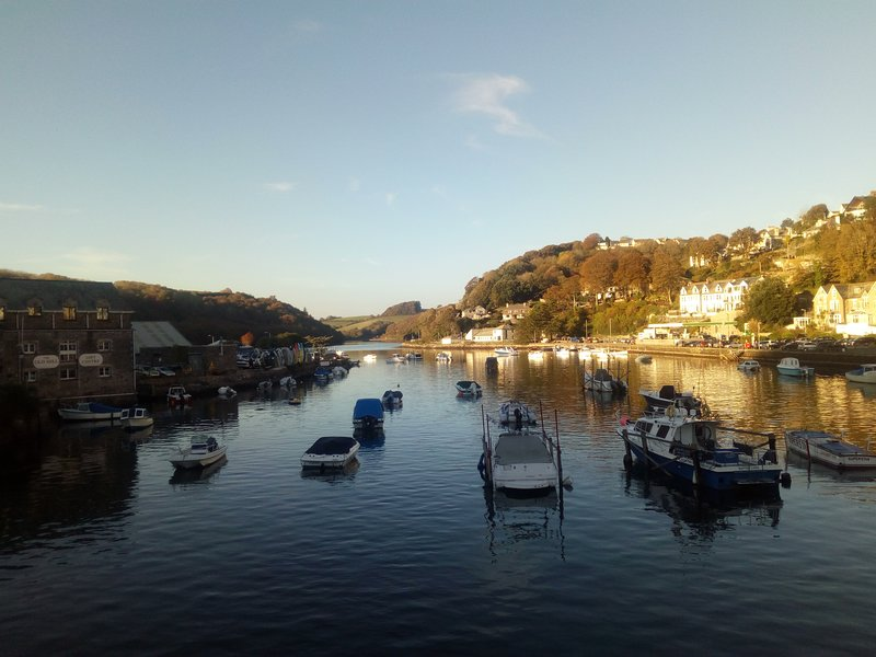 Fowey river in October