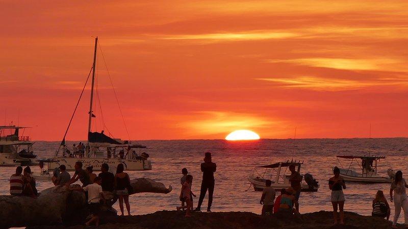 Wonderful Tamarindo sunsets
