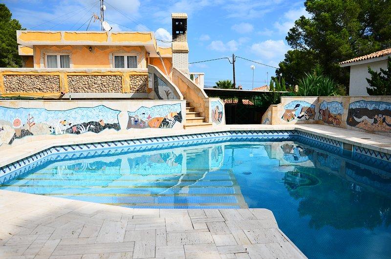 Villa Picasso para 10 personas, casa vacanza a L'Ametlla de Mar