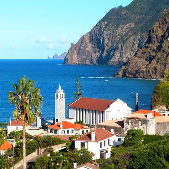 Vivenda Linda Vista 2  with spectacular sea and mountain views, vacation rental in Porto da Cruz