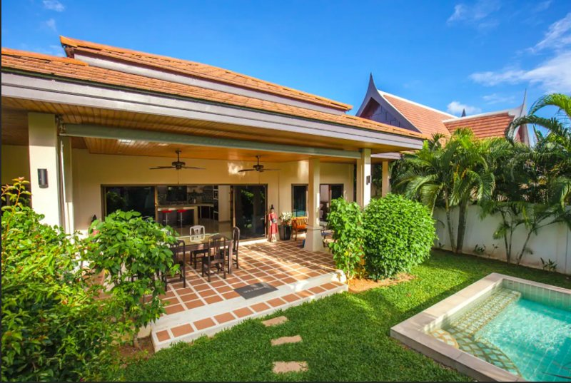 CORDOUAN2- fully equipped 2 BR pool villa, holiday rental in Nai Harn