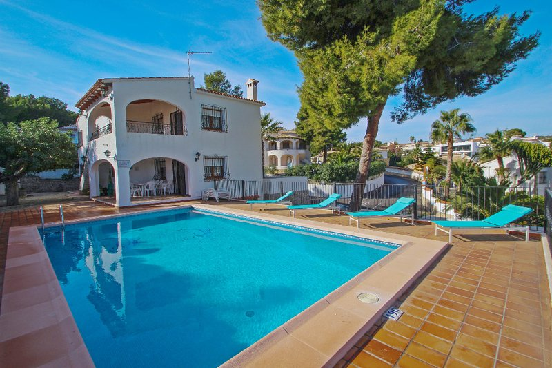 La Boniquessa - sea view villa with private pool in Benissa, Ferienwohnung in Canor