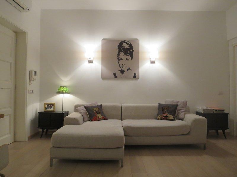 Entrada / sala de estar