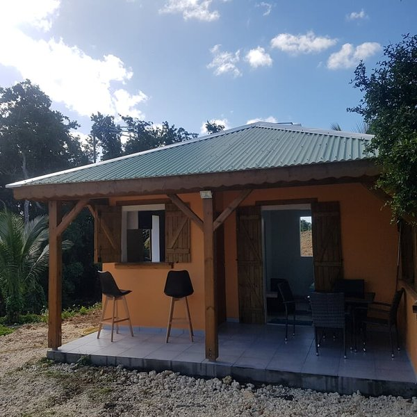 Nice studio with terrace & Wifi, holiday rental in Morne-A-l'Eau