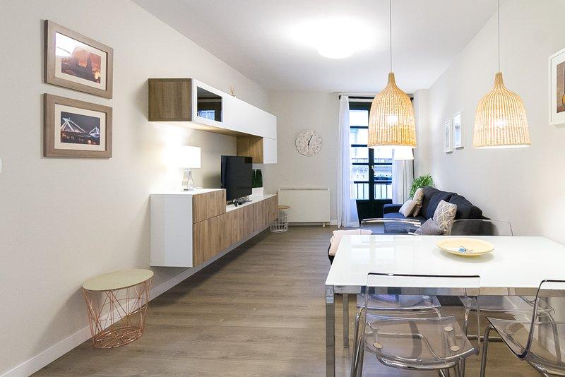 Apartamento céntrico con encanto en el casco antiguo al lado catedral y termas, aluguéis de temporada em Nogueira de Ramuin