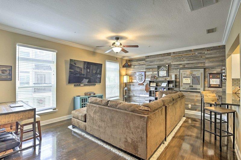 Questa casa Tampa è ideale per gruppi di 6 in cerca di lusso.