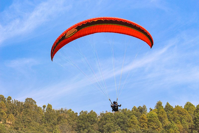 Indulge in Paragliding near the villa. Fly while you see your people waving you from the ground