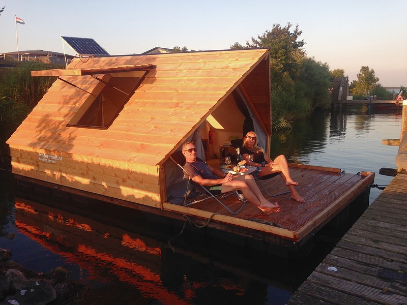 Lodges op Pampus, holiday rental in Weesp