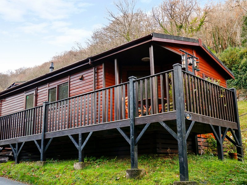 22 TWO LITTLE DUCKS, Decking area, Open-plan living, Lynton, vacation rental in Parracombe