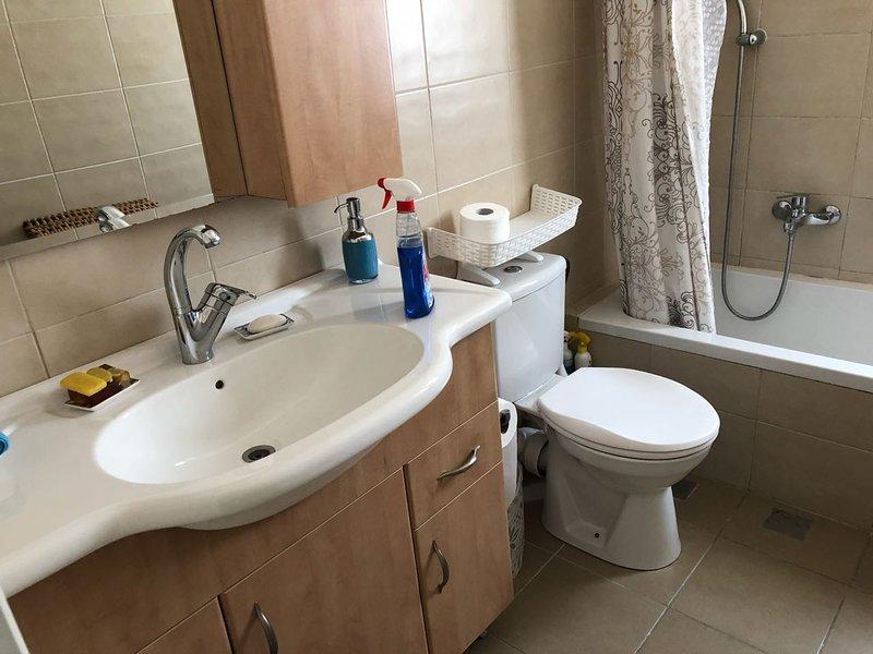 Sweet 3 bedroom 2 bath. Near Emek Refaim, alquiler de vacaciones en Beit Jala