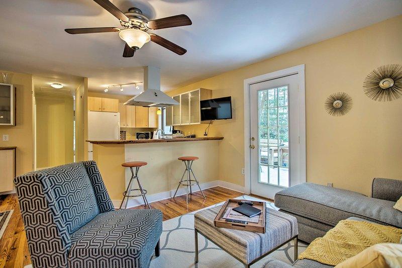 Chame este aconchegante de 2 quartos, 2 casas de banho de férias para casa sua morada temporária.