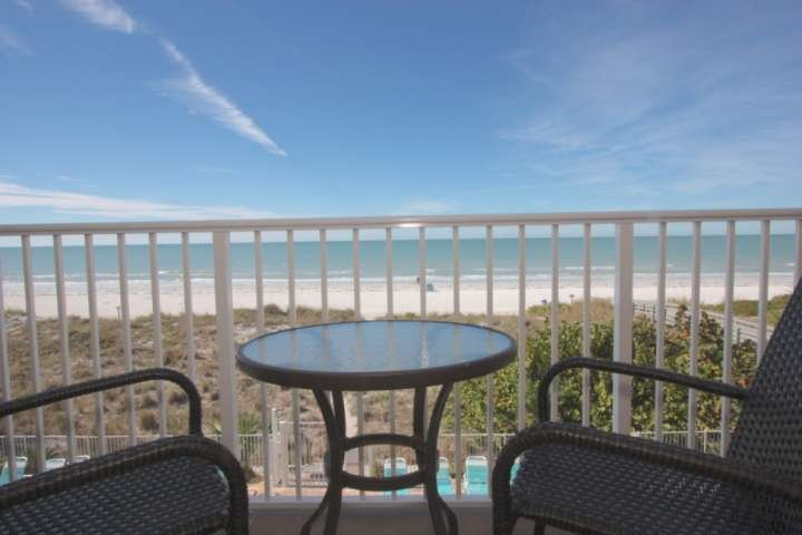 Indian Rocks Beach.   Your private balcony.