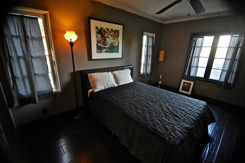 Bedroom with breathtaking view of Universal City