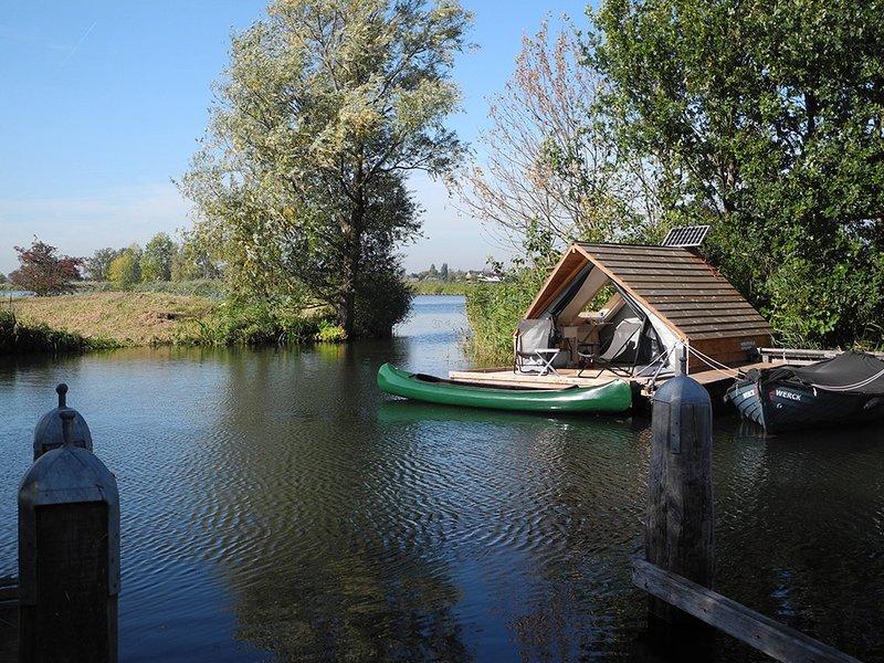 Water Lodge Fort Uitermeer – semesterbostad i Muiden