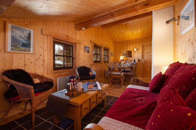 Le Chalet au Tour, casa vacanza a Vallorcine