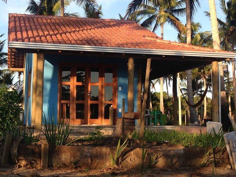 Casa Azul - Mar Doce de Abrolhos, holiday rental in Nova Vicosa