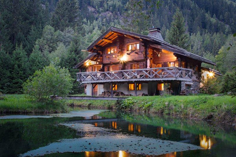 Beautiful wooden Chalet