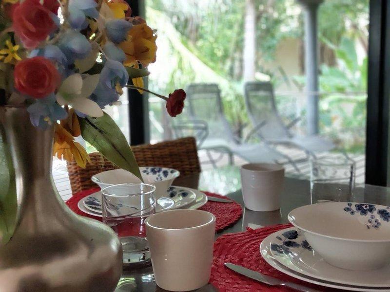 Casa tipo Bali  perfecto Getaway, holiday rental in Chablekal