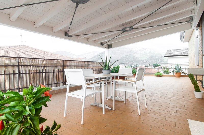 La Terrazza su Fondi, holiday rental in Vallecorsa