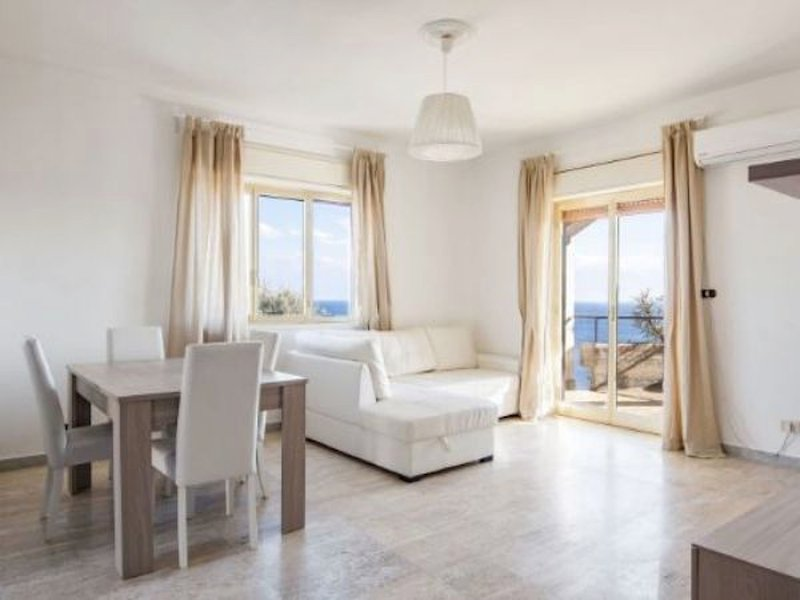 Room with sea view and double sofa bed