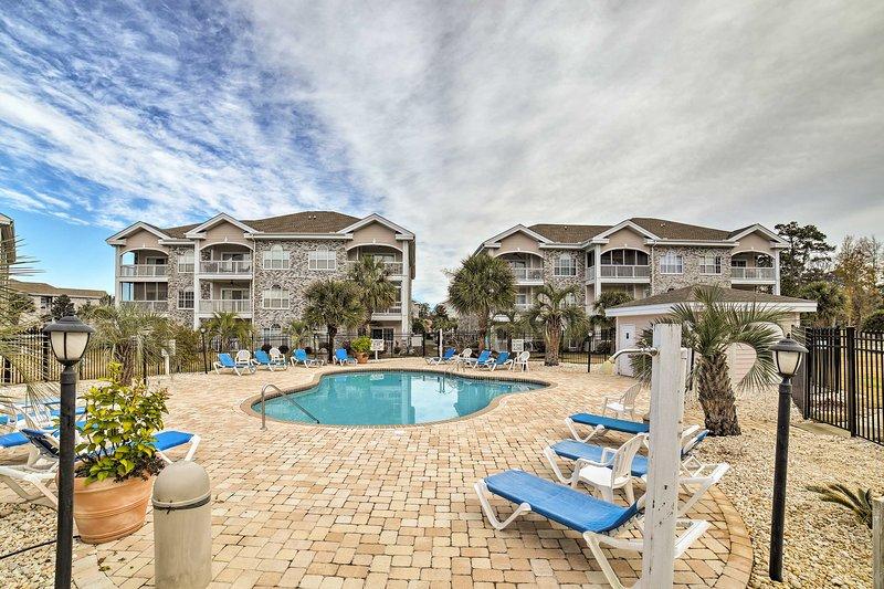 Reivindicar este condomínio de férias acolhedor para o seu próximo retiro Myrtle Beach!