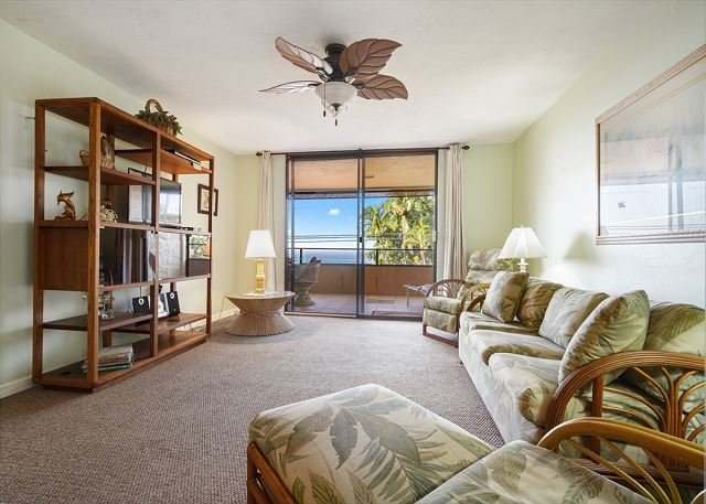Holualoa Bay Villas: 106 Beautiful Oceanview, AC, Elevators, Wifi!, aluguéis de temporada em Ilha Havaí