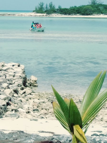 Sweeting's Cay eco adventures tours, beach house rental, just steps to the beach, vacation rental in McLean's Town