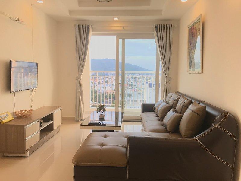 Appartamento con balcone con vista sul mare