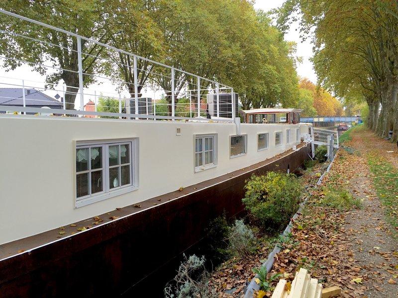 Spacious property with terrace, alquiler vacacional en Estrasburgo
