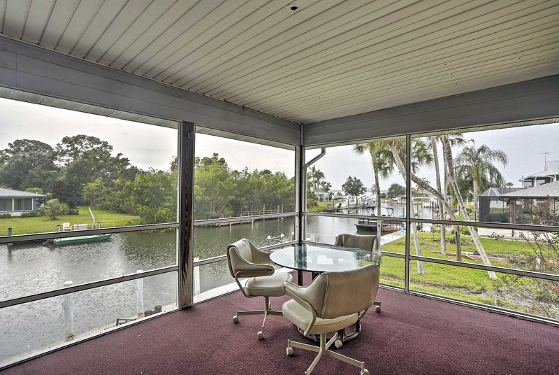 Leave behind the bustle of daily life for some R&R at this coastal casa!