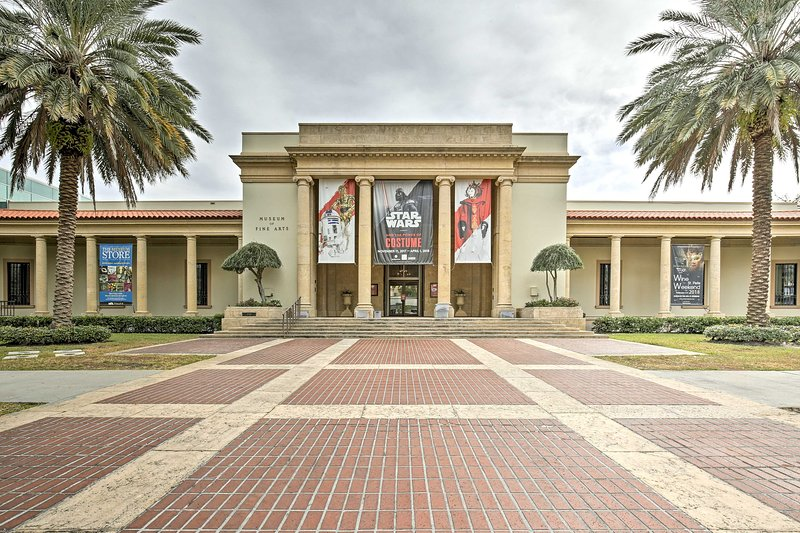 The Museum of Fine Arts is a great place to spend a day!