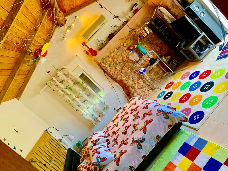 little cozy house with pool in ibiza spain WIFI AND SEA, holiday rental in San Lorenzo