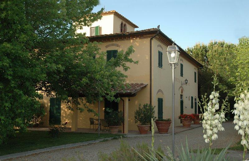 Villa Panconesi 'Granaio', holiday rental in Trecento