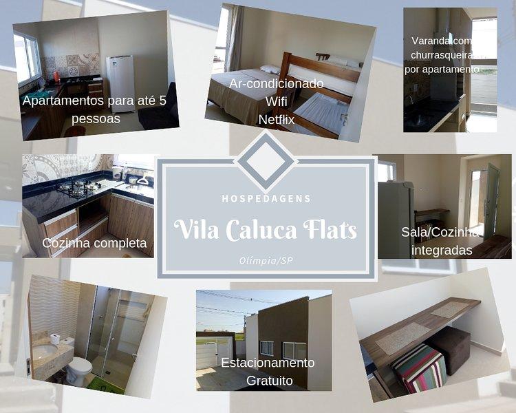 Vila Caluca Flats, holiday rental in Olimpia